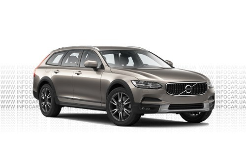 Цвета V90 Cross Country